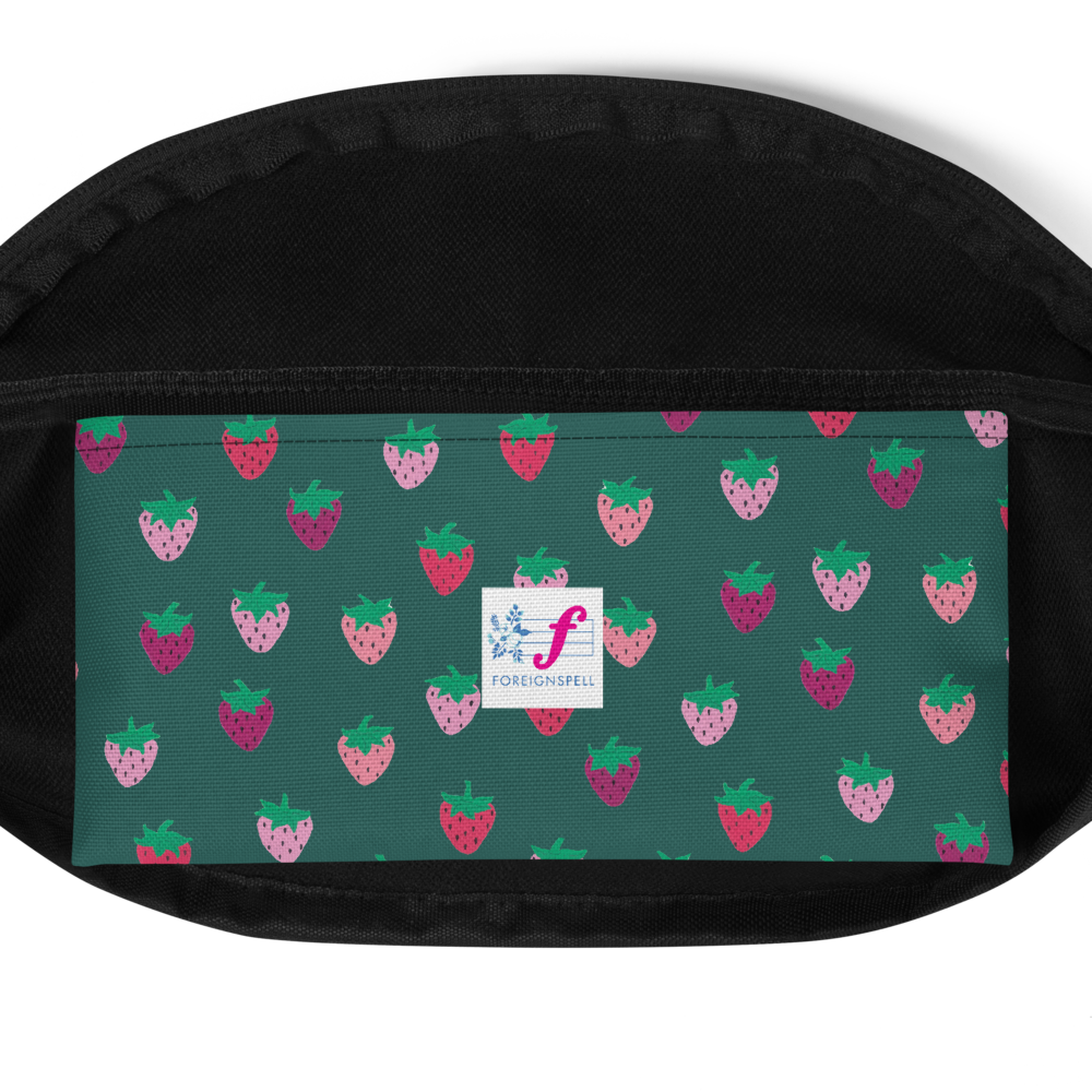 Pink Strawberry Patch Fanny Pack