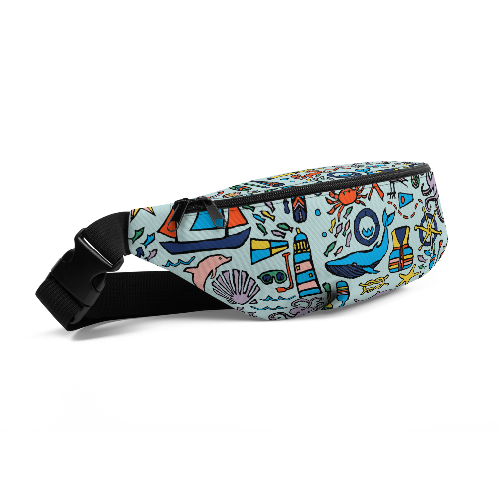 Nautical Drifts Fanny Pack