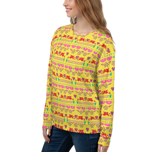 Handmade Love Papel Picado Pattern Sweatshirt