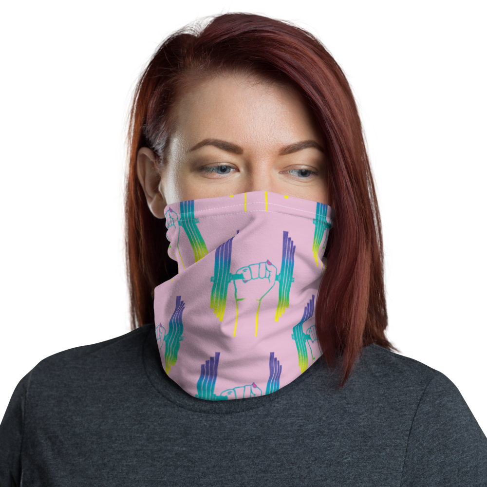 Females Are Strong As Hell Neck Gaiter