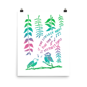 The Littlest Birds Sing The Prettiest Art Prints