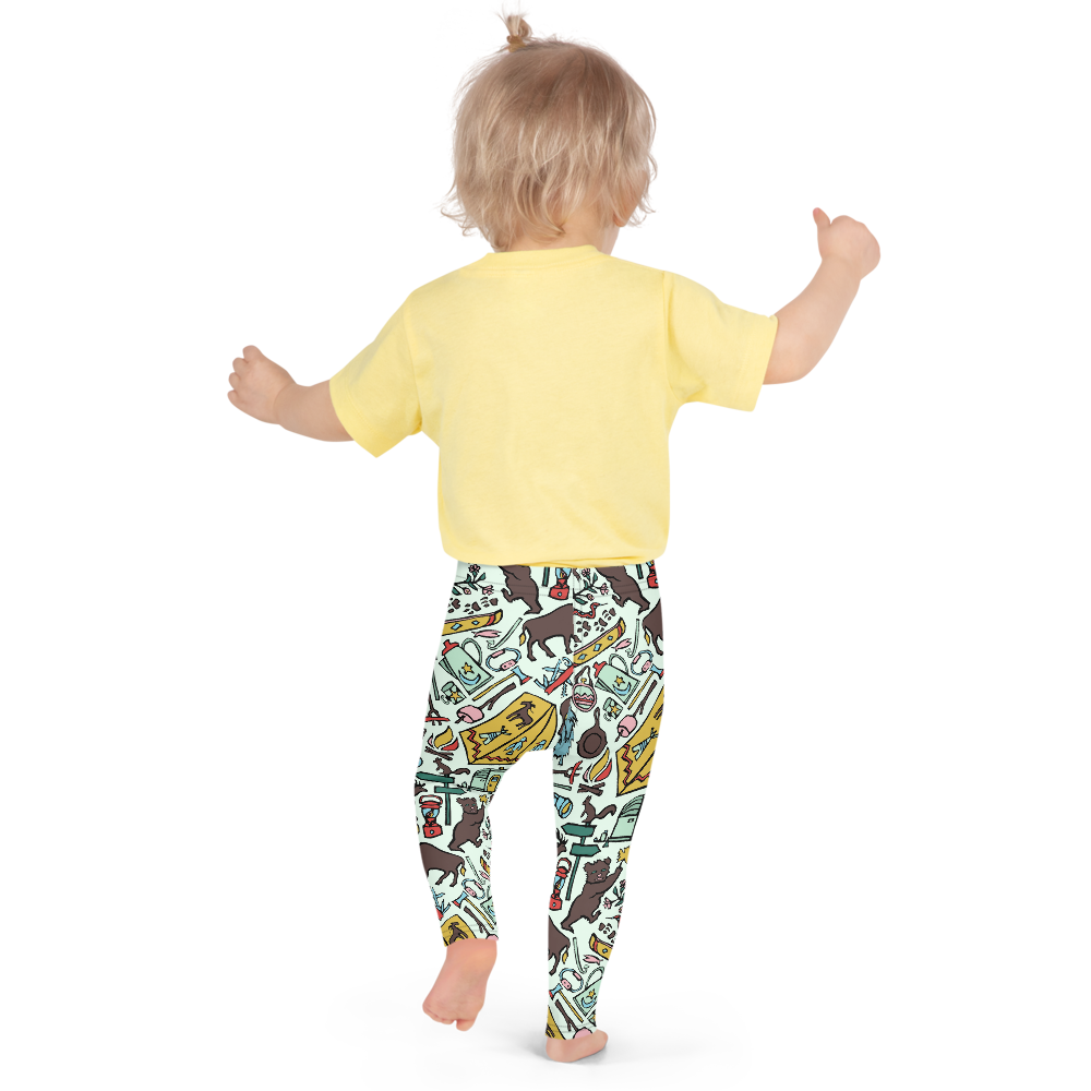Whimsical Wilderness Kids Leggings