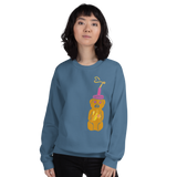 Honey Bear Adult Sweatshirt