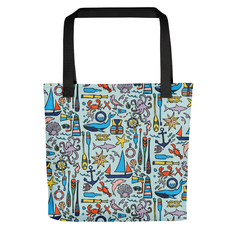 Nautical Drifts Tote Bag