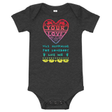 Your Love Was Handmade For Somebody Like Me Onesie