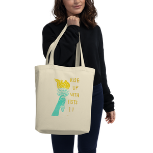 Rise Up With Fists!! Eco Tote Bag