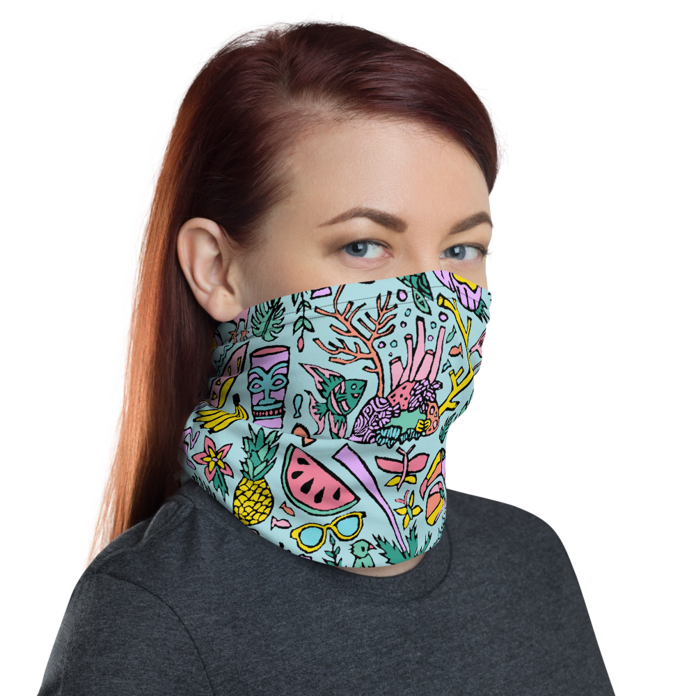 Tropical Fantasies Neck Gaiter