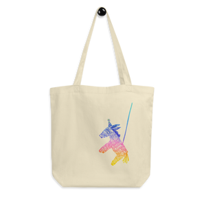 Happy Happy Joy Joy Donkey Pinata Eco Tote Bag