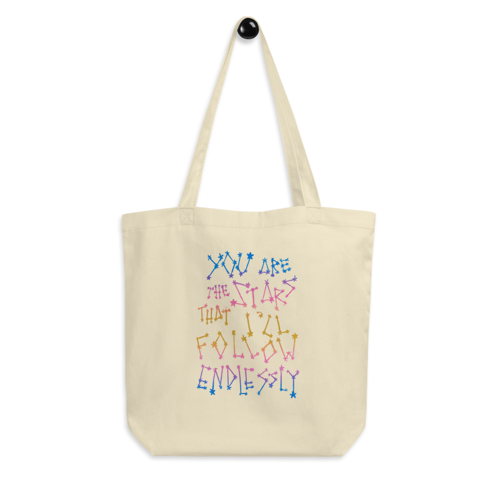 You Are The Stars That I'll Follow Endlessly Eco Tote Bag