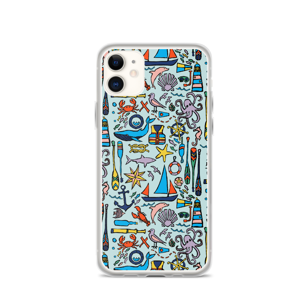 Nautical Drifts iPhone Case