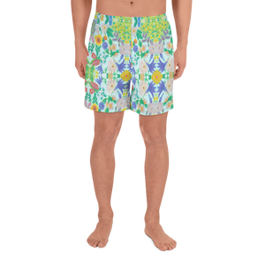 Garden for the Enlightenment Athletic Long Shorts