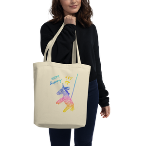 Happy Happy Joy Joy Eco Tote Bag