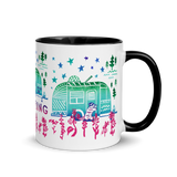 Without You My Life Would Be Boring Mug with Color Inside