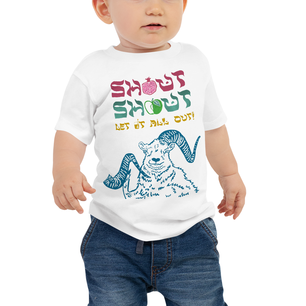 Shout Shout Let It All Out Baby Short Sleeve Tee
