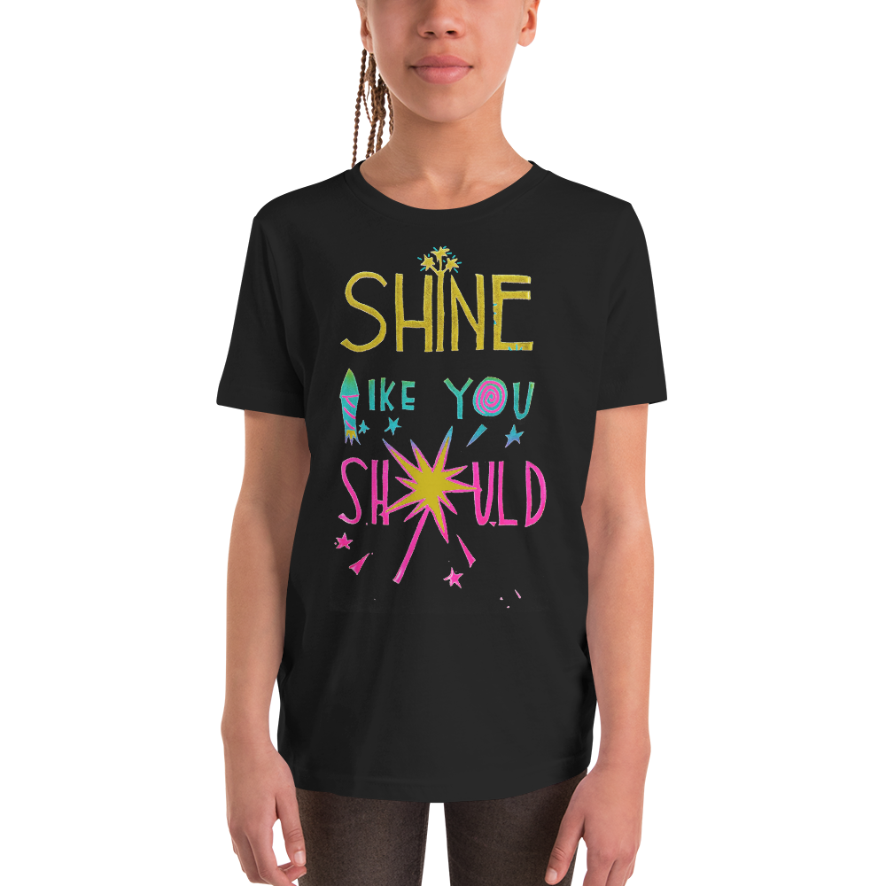 Shine Like You Should Youth Short Sleeve Tee