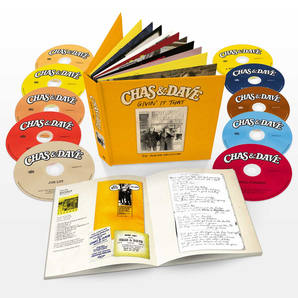 Givin' It That - The Album Collection - 10 CD Album Book Set