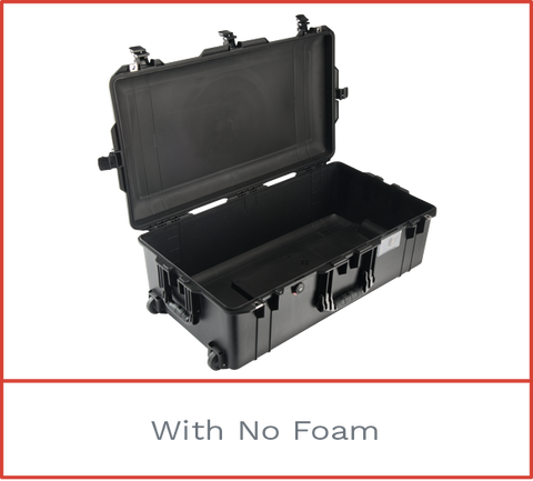 Pelican 1615 Air Case with no foam