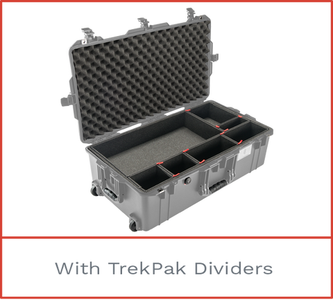 Pelican 1615 Air Case with trekpak