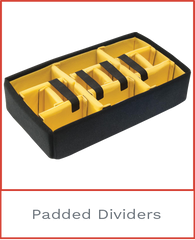 Padded Dividers for Pelican 1485 Air Case