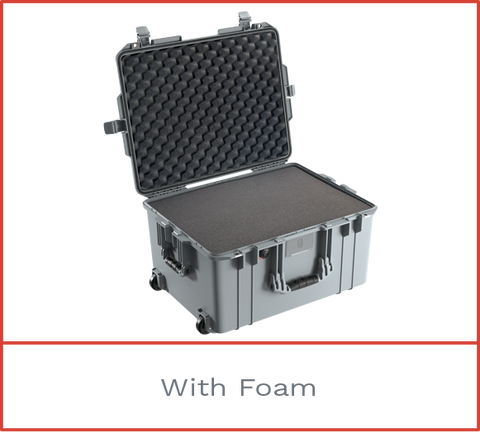 1607 Pelican Air Case with foam
