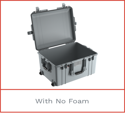 1607 Pelican Air Case with no foam