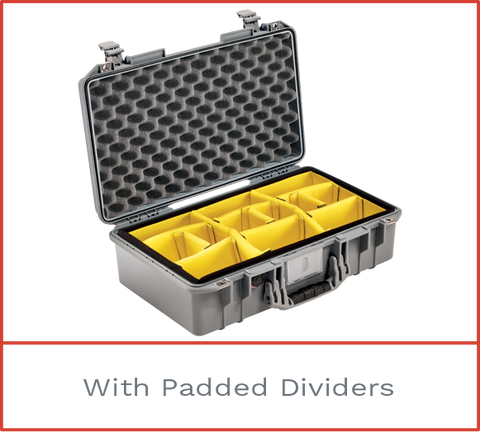 1525 Pelican Air Case with Padded Dividers