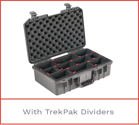 Pelican 1485 Air Cases with TrekPak Dividers