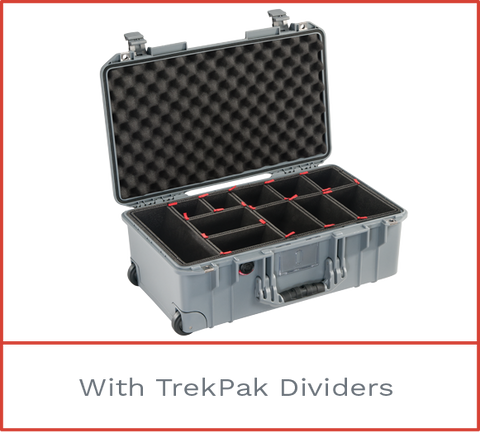 Pelican Air 1535 with trekpak dividers