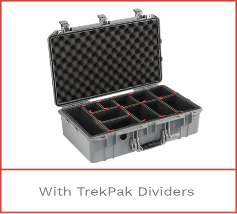 Pelican 1555 Air Case with trekpak