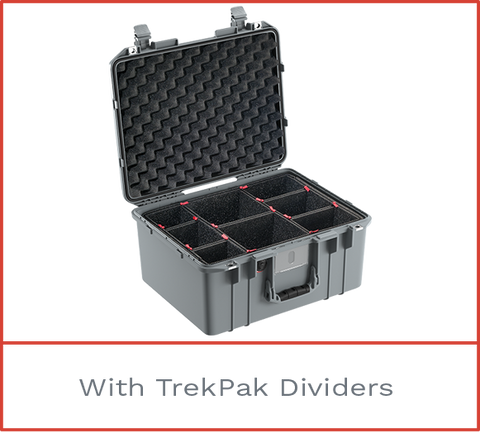 Pelican 1557 Air Case with trek pak
