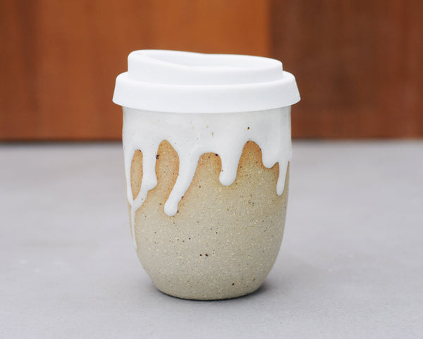 SEA FOAM EARTH CUP - SANDY CLAY