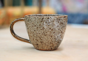 STAR DUST MUG - WHEEL THROWN