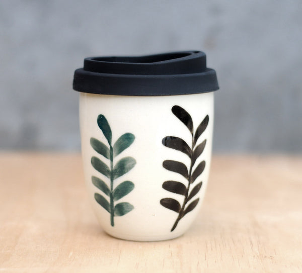 FOREST DWELLER EARTH CUP - WHITE CLAY