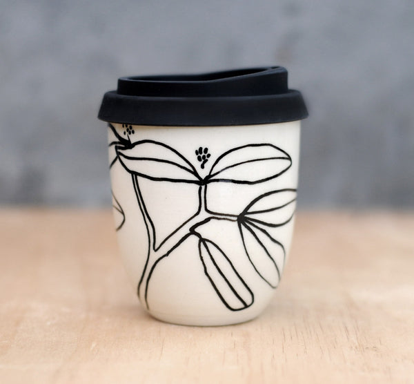 BANKSIA EARTH CUP - WHITE CLAY
