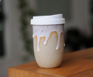 OPAL DRIBBLE EARTH CUP - SANDY CLAY