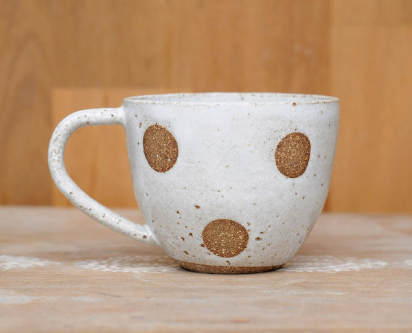 FULL MOON MUG - CHOCOLATE CLAY