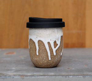 SNOWY MOUNTAIN EARTH CUP - CHOCOLATE CLAY
