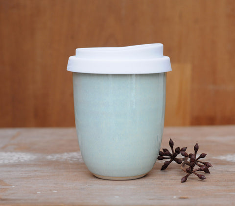 MINT EARTH CUP - WHITE CLAY