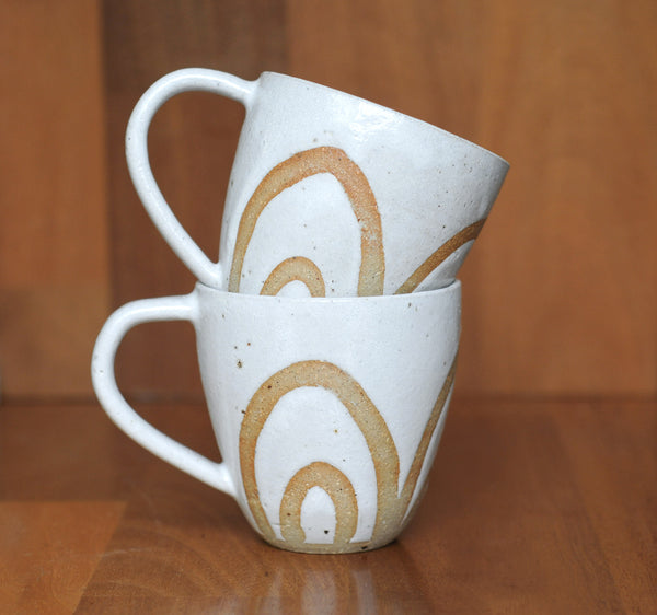 RAINBOW MUG - SANDY CLAY