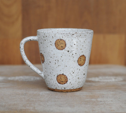 FULL MOON MUG - SPECKLED CLAY