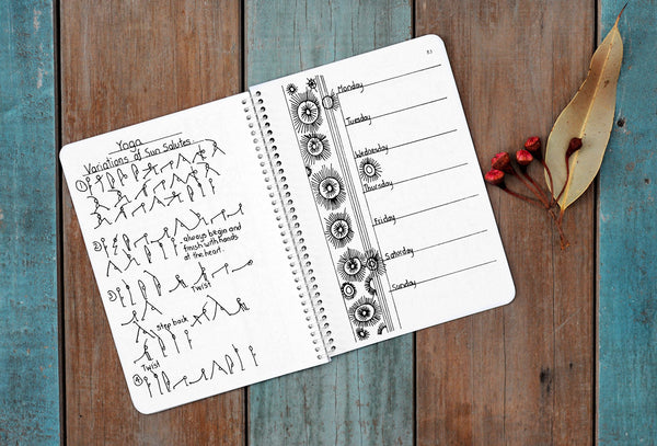 A YOGA JOURNAL - Classes & Journaling for Your Personal Practice