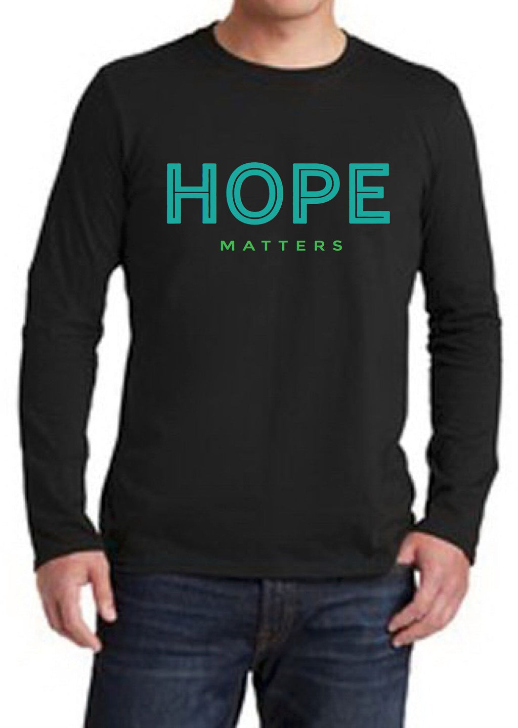 Hope Matters Unisex Long Sleeve Tee