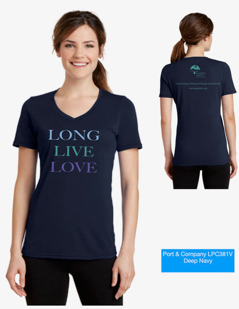 Long Live Love Multicolor tee