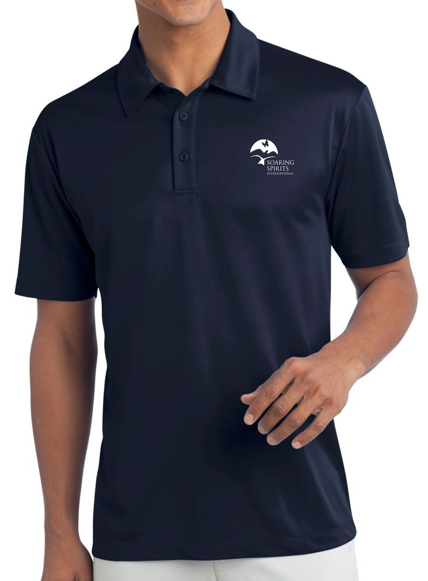 Soaring Spirits Golf Polo