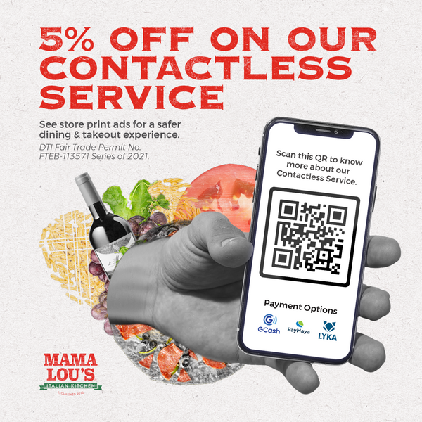 Mama Lou's Goes Contactless: A Safer Dining Experience