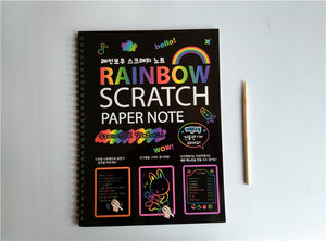 Large Scratch Paper Colouring and Activity - Sensory Monkey Autism ASD Aspergers Sensory Needs, ADHD Attention Deficit Disorder Spectrum Children