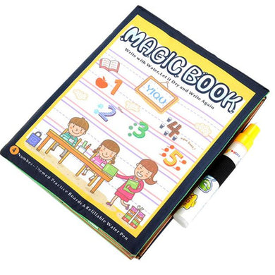 Magic Water Book Colouring and Activity - Sensory Monkey Autism ASD Aspergers Sensory Needs, ADHD Attention Deficit Disorder Spectrum Children