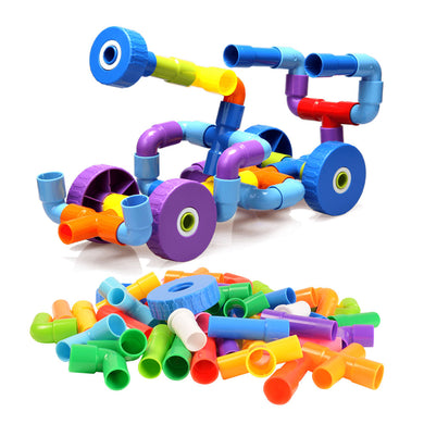 Pipe and Joint Construction Kit developmental toys - Sensory Monkey Autism ASD Aspergers Sensory Needs, ADHD Attention Deficit Disorder Spectrum Children