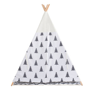Calm Corner Teepee - Pine Tree Print tents - Sensory Monkey Autism ASD Aspergers Sensory Needs, ADHD Attention Deficit Disorder Spectrum Children