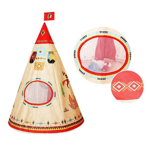 Small Calm Corner Teepee - Indian Print tents - Sensory Monkey Autism ASD Aspergers Sensory Needs, ADHD Attention Deficit Disorder Spectrum Children
